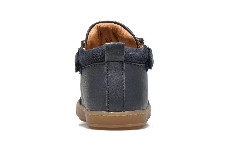 Ankle boots Shoo Pom Bouba Bi Zip Lipiz Blue view from the right