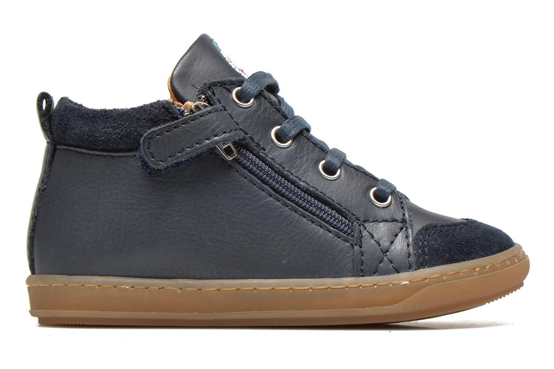 Bottines et boots Shoo Pom Bouba Bi Zip Lipiz Bleu vue derrière