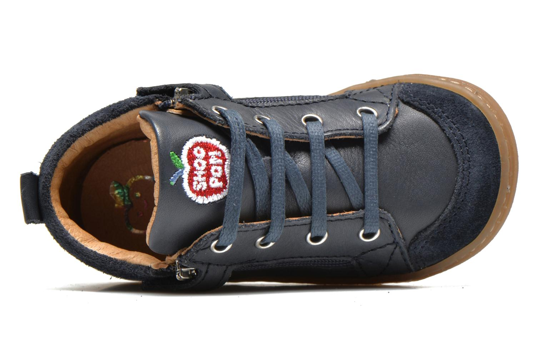 Ankle boots Shoo Pom Bouba Bi Zip Lipiz Blue view from the left