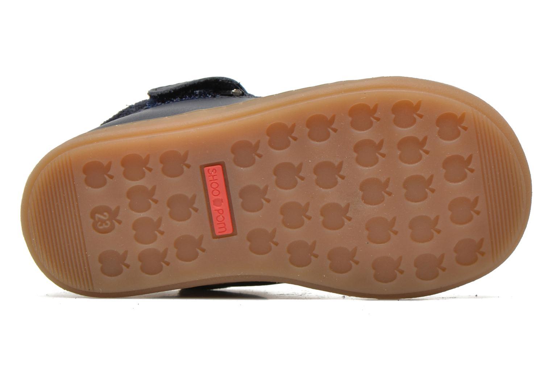 Bottines et boots Shoo Pom Bouba Bi Zip Lipiz Bleu vue haut