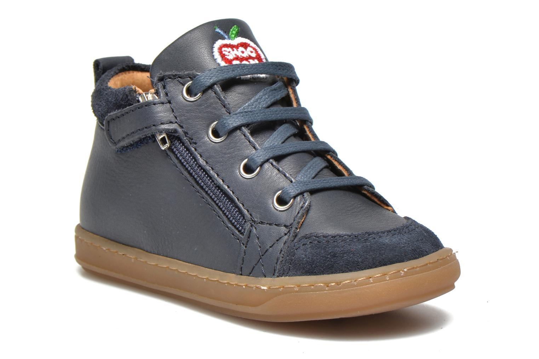 Bottines et boots Shoo Pom Bouba Bi Zip Lipiz Bleu vue détail/paire