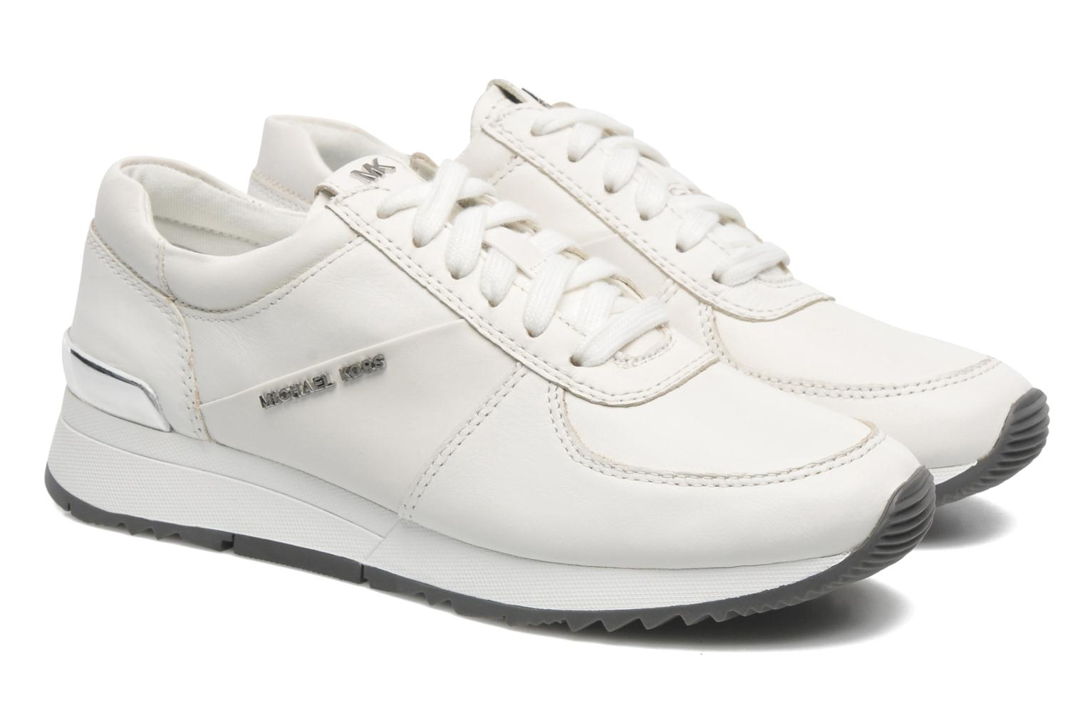 Baskets Michael Michael Kors Allie trainer Blanc vue 3/4