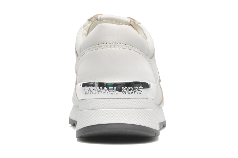 Baskets Michael Michael Kors Allie trainer Blanc vue droite