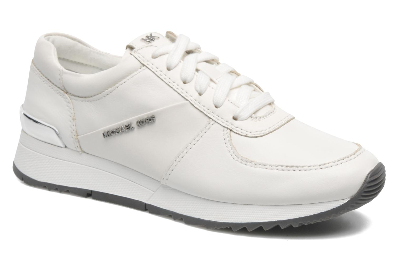 Baskets Michael Michael Kors Allie trainer Blanc vue détail/paire