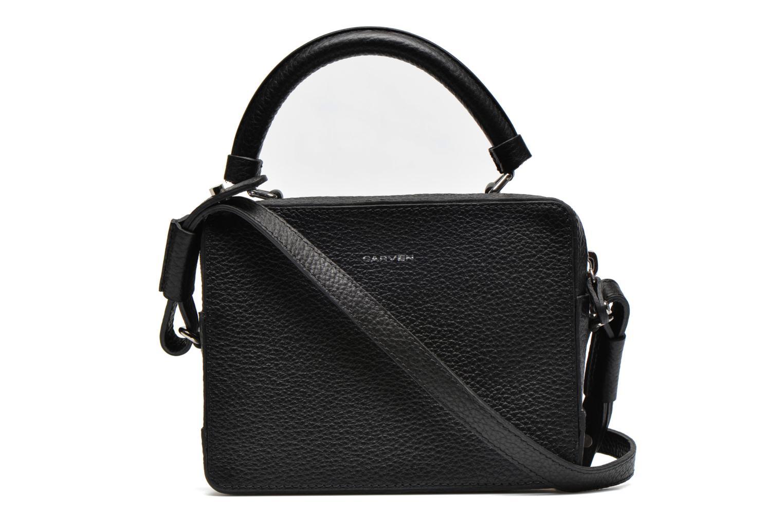 Handtaschen Carven MALHER Petit porté travers schwarz ansicht von vorne