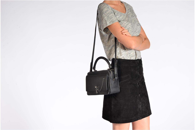 Handtaschen Carven MALHER Petit porté travers schwarz ansicht von oben