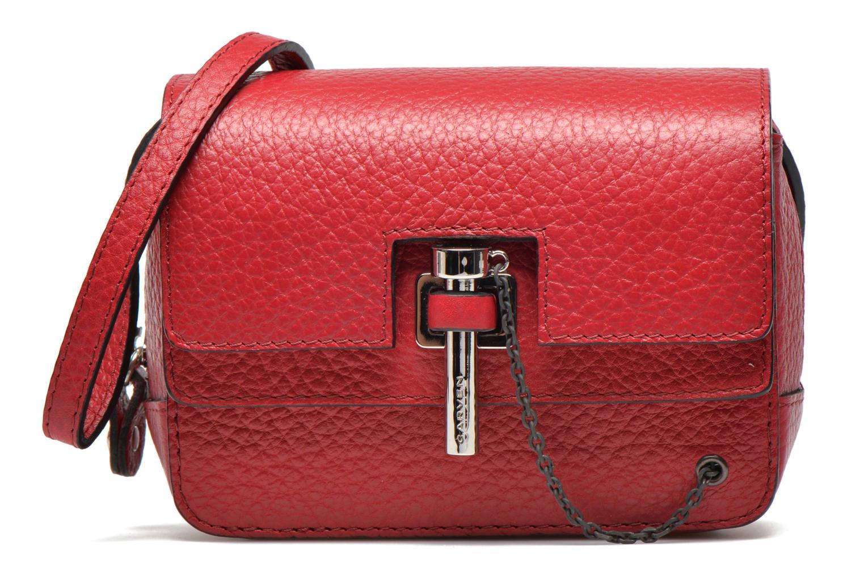 Håndtasker Carven MALHER Mini Sac Rød detaljeret billede af skoene