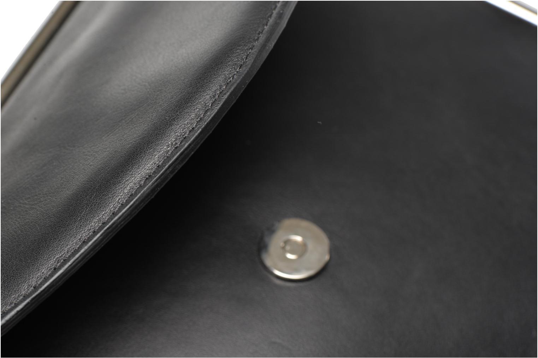 Handtaschen Carven SAINT SULPICE Bandoulière schwarz ansicht von links