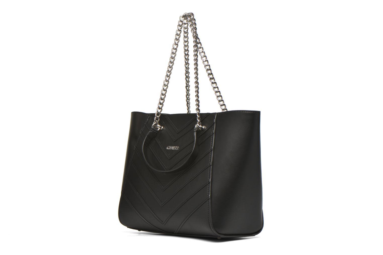 Handtassen Guess Nikki Chain tote Zwart model