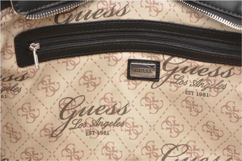 Handtassen Guess Nikki Chain tote Zwart achterkant