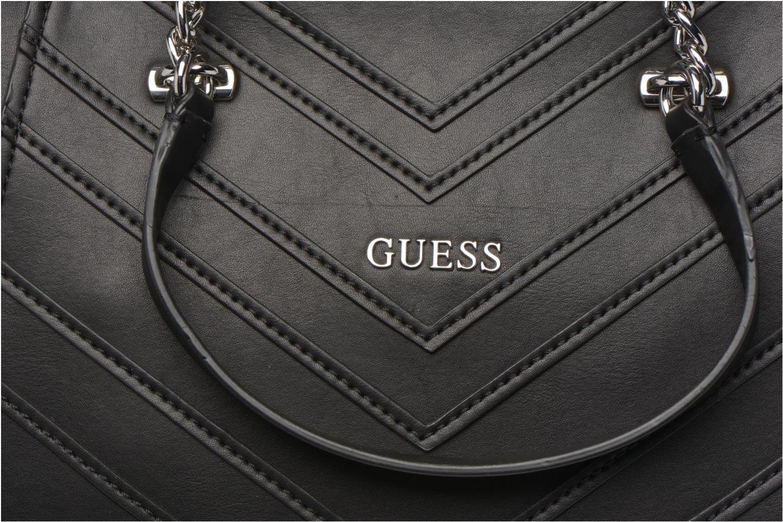 Handtassen Guess Nikki Chain tote Zwart links