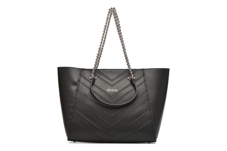 Handtassen Guess Nikki Chain tote Zwart detail
