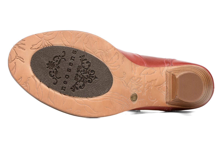 Escarpins Neosens Rococo S849 Rouge vue haut