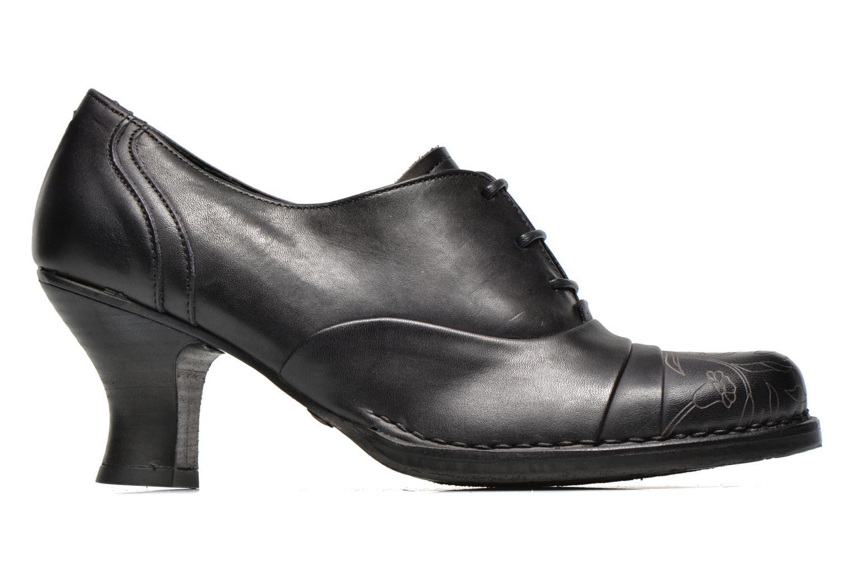 Chaussures à lacets Neosens Rococo S845 Noir vue derrière
