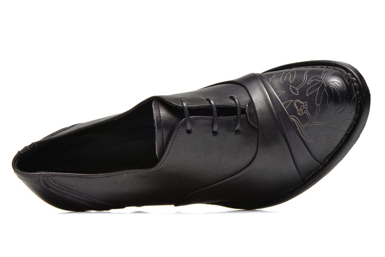 Chaussures à lacets Neosens Rococo S845 Noir vue gauche