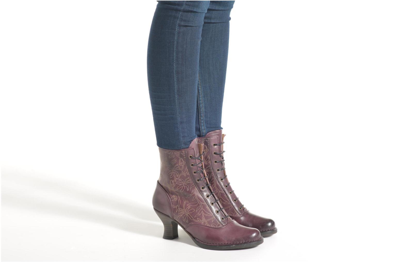 Bottines et boots Neosens Rococo S846 Violet vue bas / vue portée sac