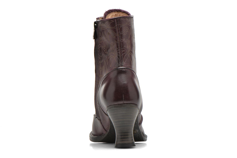 Bottines et boots Neosens Rococo S846 Violet vue droite