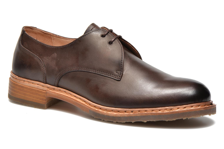 Zapatos con cordones Neosens Hondarribi S898 Marrón vista de detalle / par