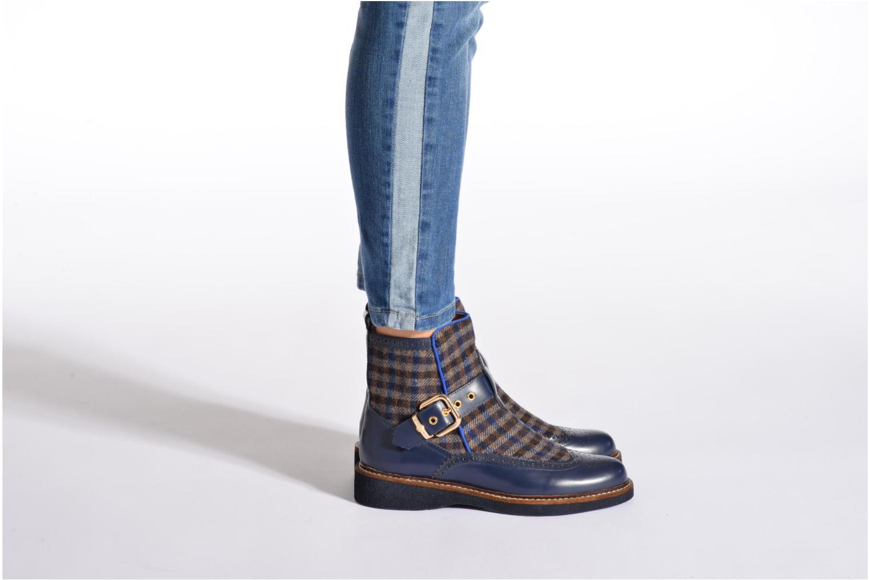 Bottines et boots Mellow Yellow Taylorine Bleu vue bas / vue portée sac