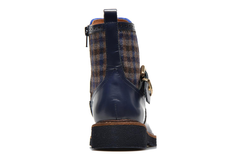 Bottines et boots Mellow Yellow Taylorine Bleu vue droite