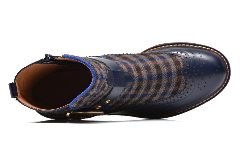 Bottines et boots Mellow Yellow Taylorine Bleu vue gauche