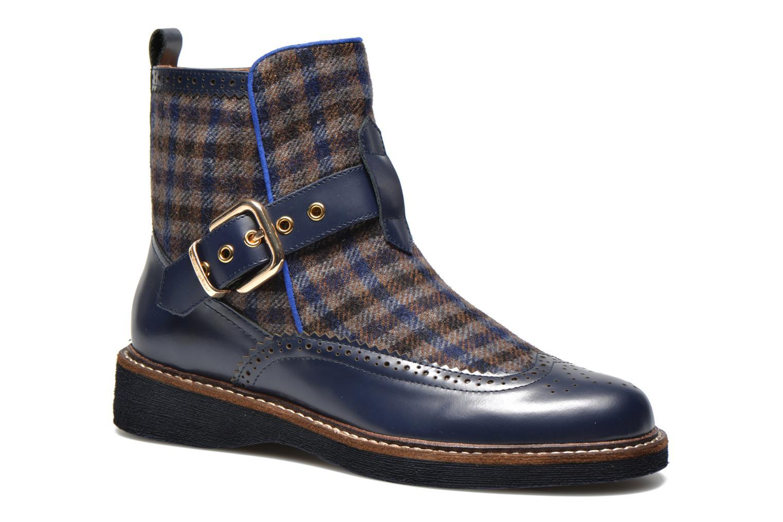 Bottines et boots Mellow Yellow Taylorine Bleu vue détail/paire