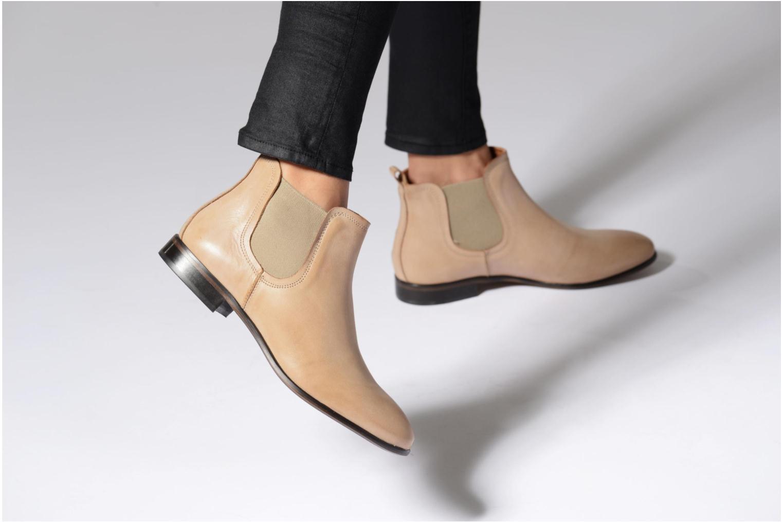 Stiefeletten & Boots Georgia Rose Anillou beige ansicht von unten / tasche getragen