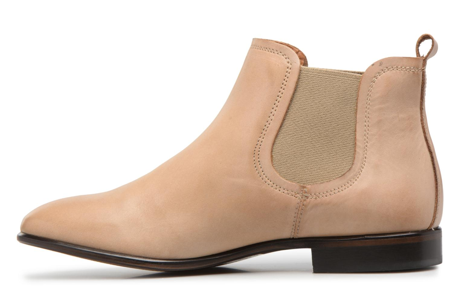Ankle boots Georgia Rose Anillou Beige front view