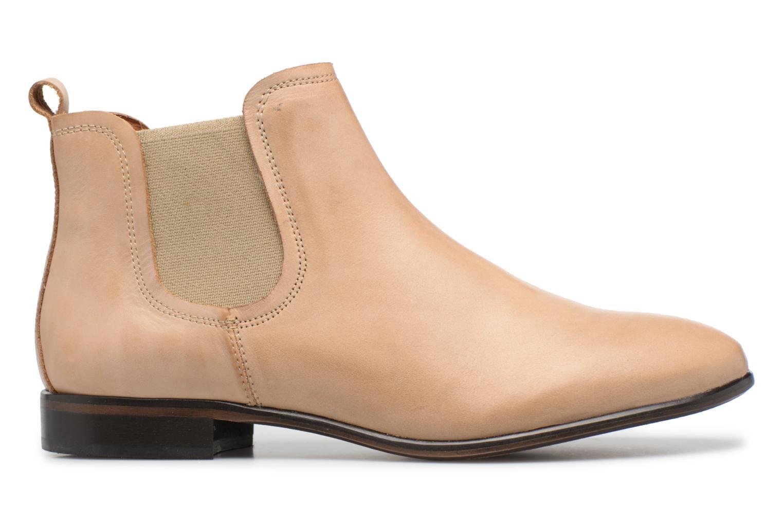 Bottines et boots Georgia Rose Anillou Beige vue derrière