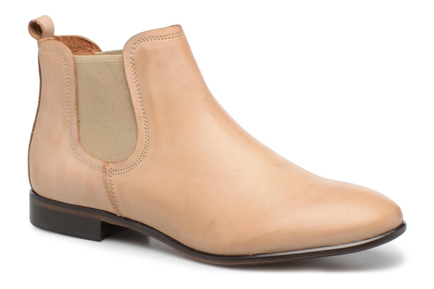 Ankle boots Georgia Rose Anillou Beige detailed view/ Pair view