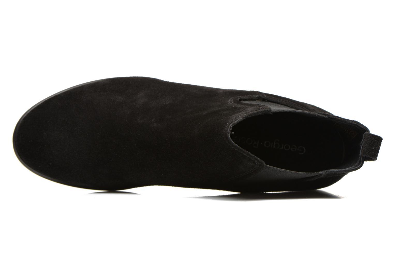 Anilla Cuir velours noir