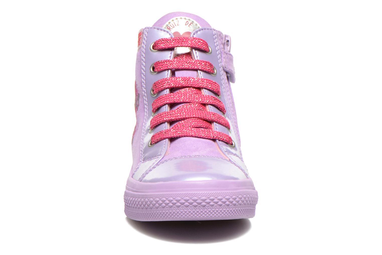 Baskets Agatha Ruiz de la Prada Mini Lollipop Violet vue portées chaussures