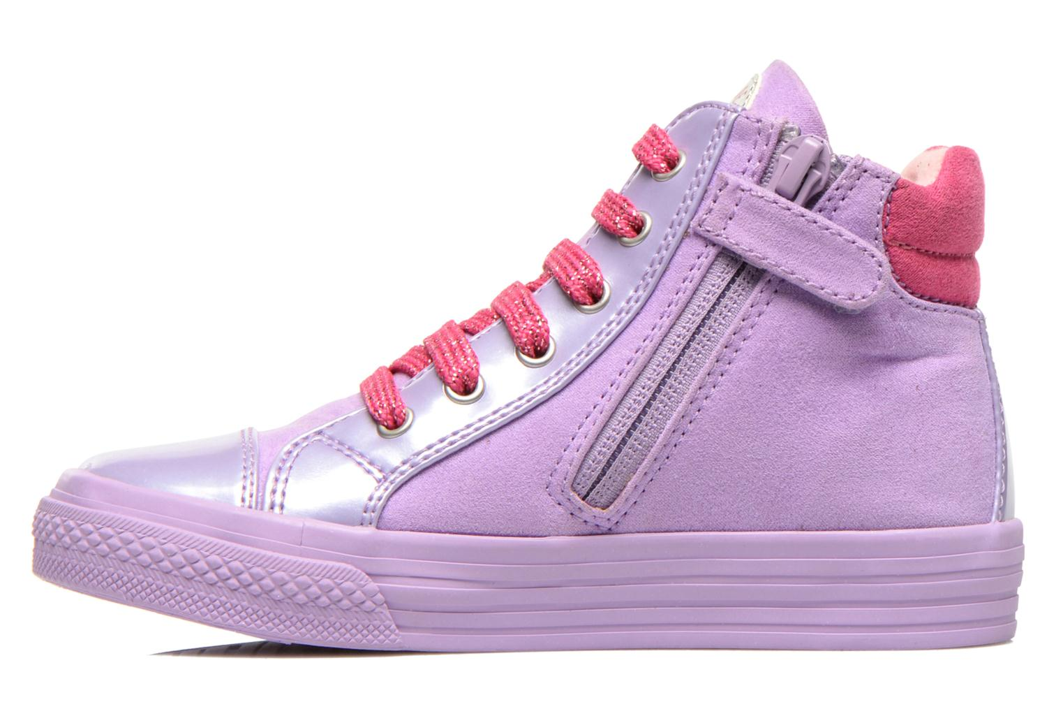 Trainers Agatha Ruiz de la Prada Mini Lollipop Purple front view