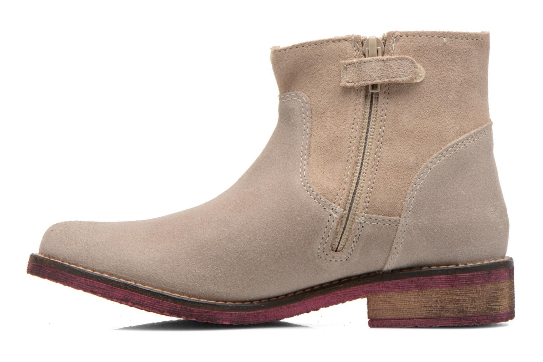 Bottines et boots Agatha Ruiz de la Prada Camperas Agatha Beige vue face