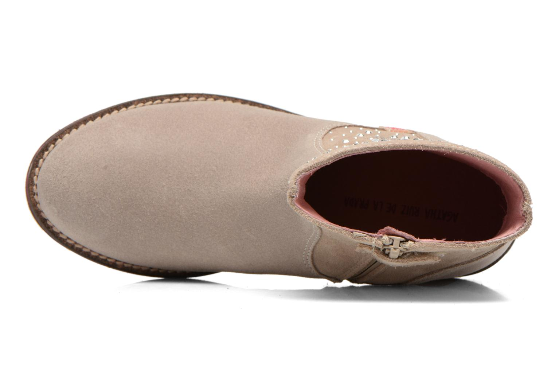 Bottines et boots Agatha Ruiz de la Prada Camperas Agatha Beige vue gauche