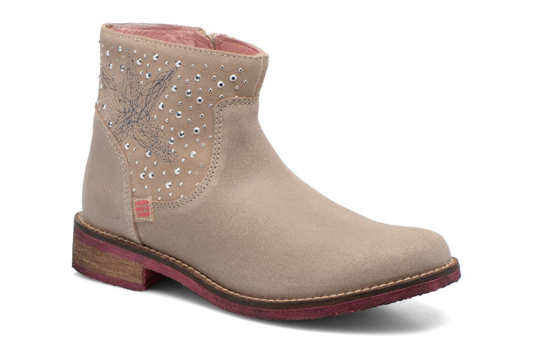 Bottines et boots Agatha Ruiz de la Prada Camperas Agatha Beige vue détail/paire