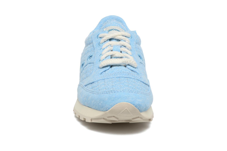 Baskets Saucony Jazz Original Bleu vue portées chaussures