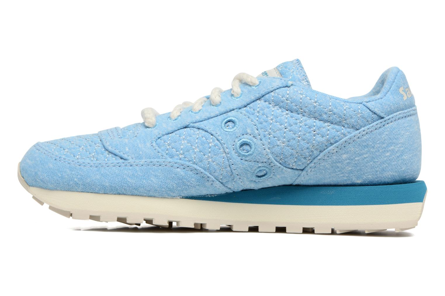 Baskets Saucony Jazz Original Bleu vue face