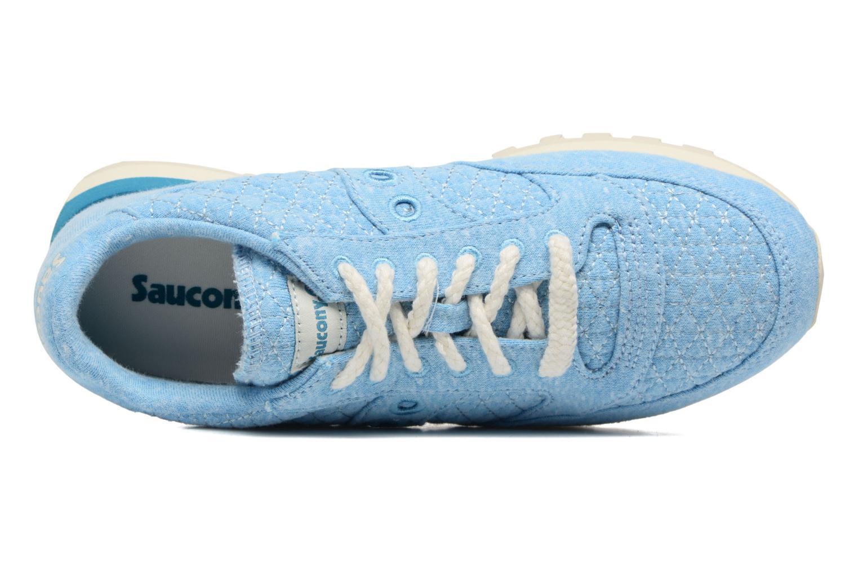 Baskets Saucony Jazz Original Bleu vue gauche
