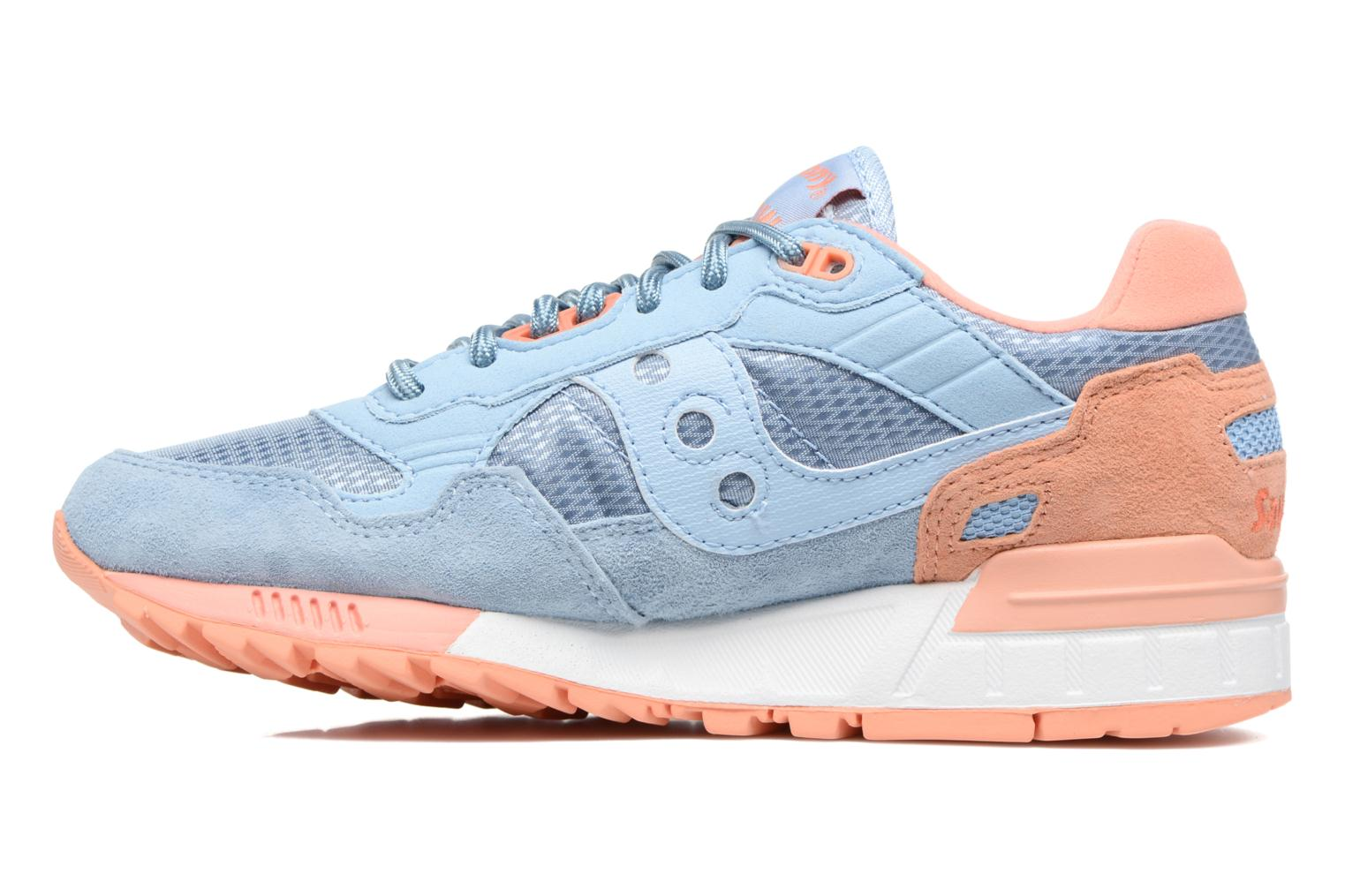 Baskets Saucony Shadow 5000 W Bleu vue face