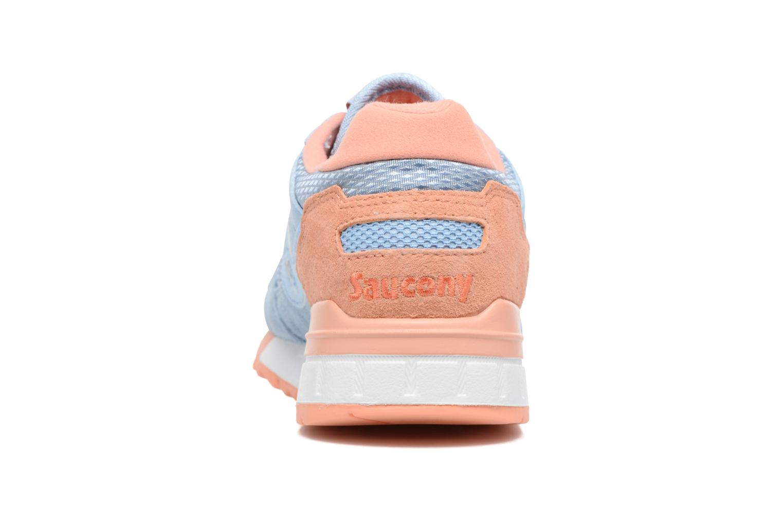Baskets Saucony Shadow 5000 W Bleu vue droite