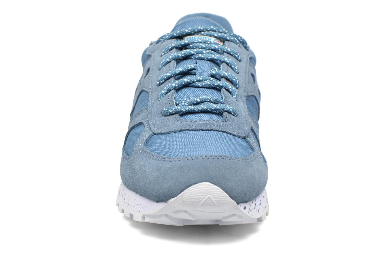 Baskets Saucony Shadow Original Bleu vue portées chaussures