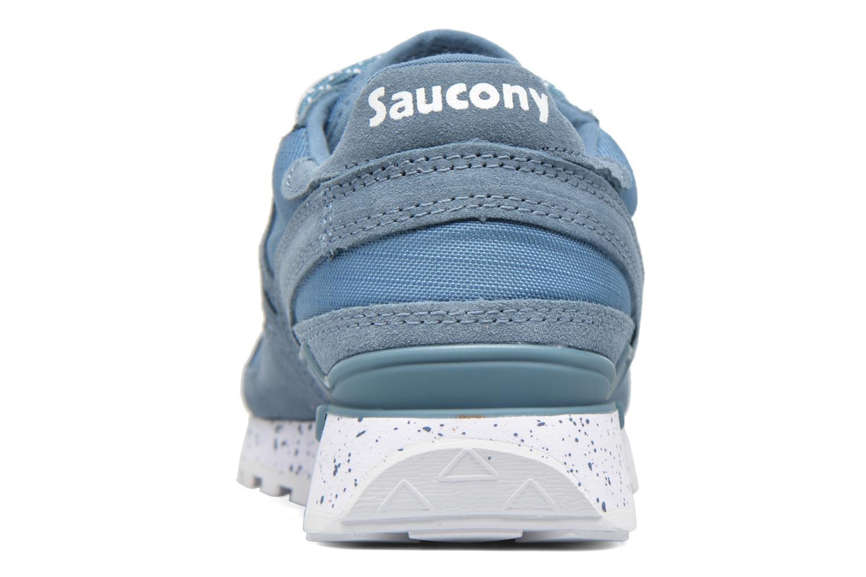 Baskets Saucony Shadow Original Bleu vue droite