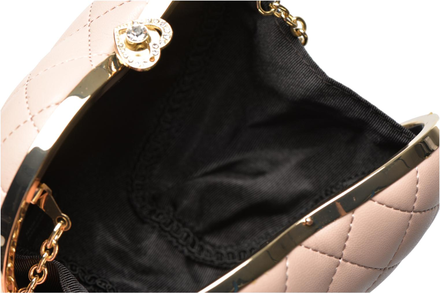 Sacs pochettes Love Moschino Quilted Heart Rose vue derrière