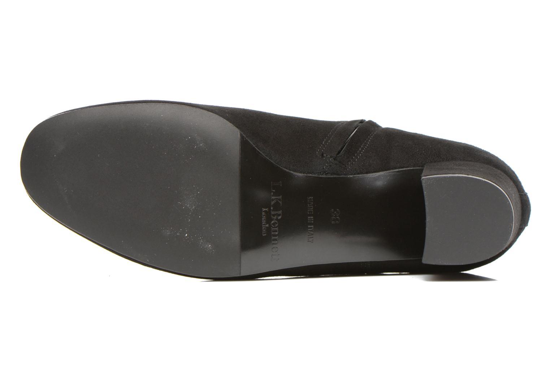 Bottines et boots L.K. Bennett Simi Noir vue haut