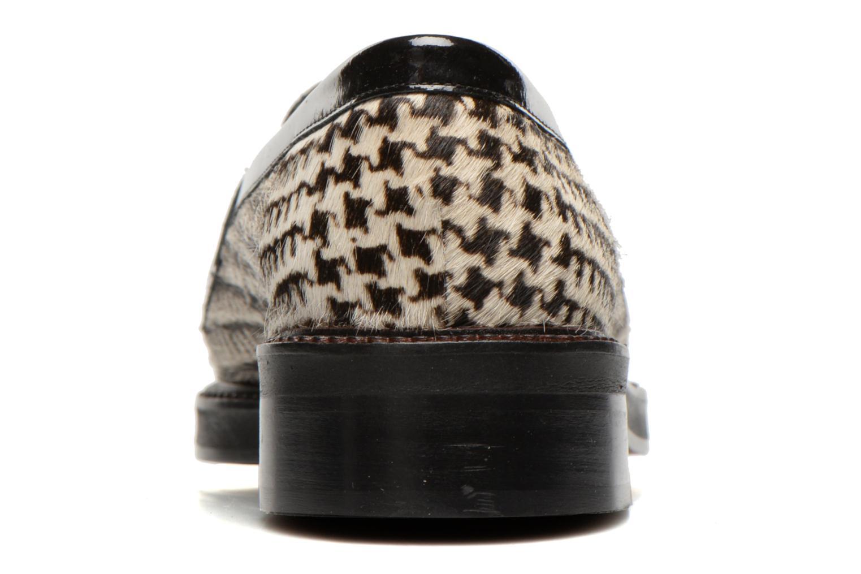 Mocassins MAURICE manufacture Valia Noir vue droite