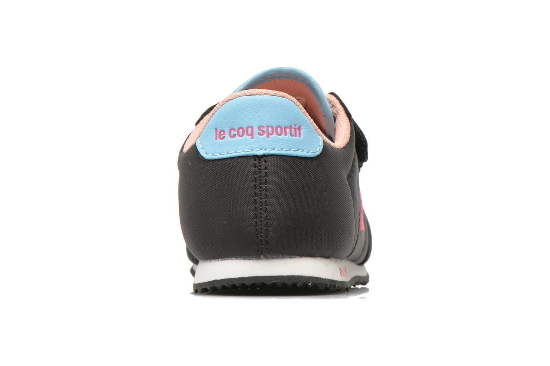 Baskets Le Coq Sportif Racerone INF Noir vue droite