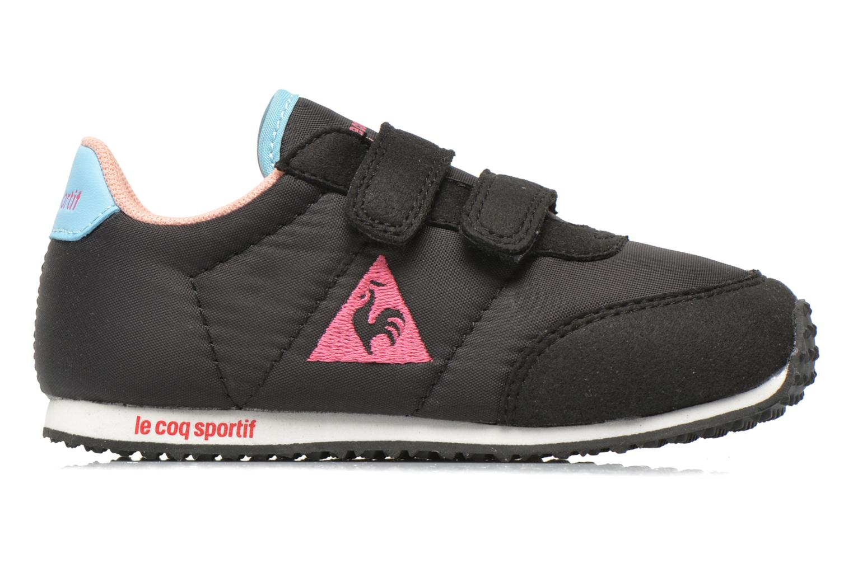 Sneaker Le Coq Sportif Racerone INF schwarz ansicht von hinten