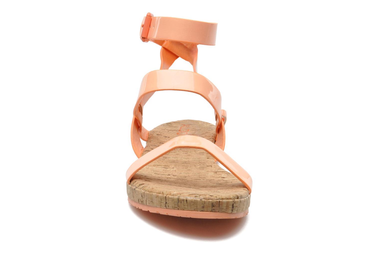 Sandales et nu-pieds Aldo Biravia Orange vue portées chaussures