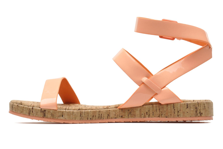 Sandales et nu-pieds Aldo Biravia Orange vue face